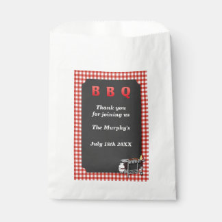 Backyard Barbecue Favor Bags Favour Bags
