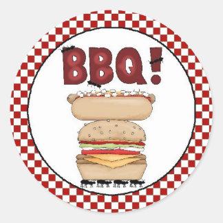 Backyard BBQ Sticker