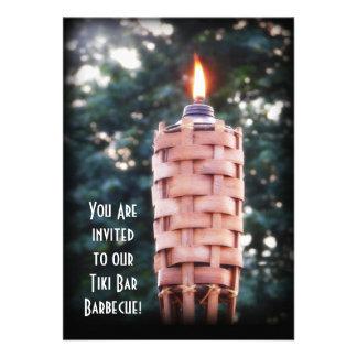 Backyard BBQ Tiki Torch Announcements