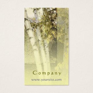 Backyard Birch Harmony Business Card