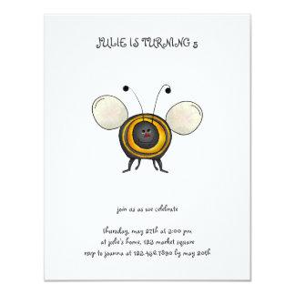Backyard Buggies · Smiling Bee Card