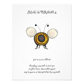 Backyard Buggies · Smiling Bee Custom Announcements