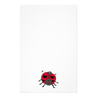 Backyard Buggies · Smiling Ladybug Stationery