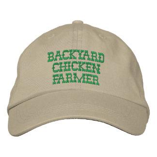 Backyard Chicken Farmer Embroidered Hat