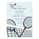 Backyard Games/ Badminton 13 Cm X 18 Cm Invitation Card