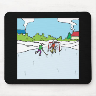 Backyard Hockey Mouse Mat