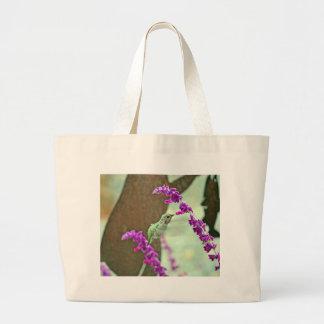 Backyard Hummingbird III Canvas Bags