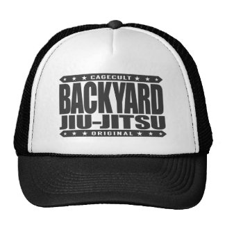 BACKYARD JIU-JITSU - I Love BJJ Grappling, Black Cap