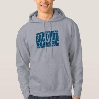 BACKYARD RAGE - Wild Kickboxing in the Hood, Blue Hoodie