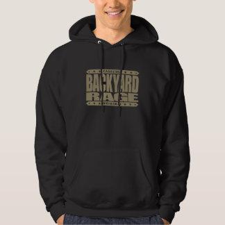 BACKYARD RAGE - Wild Kickboxing in the Hood, Gold Hooded Pullovers