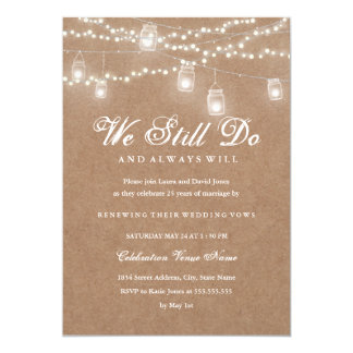 Vow Renewal Invitations Announcements Zazzle Co Uk