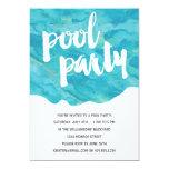 Backyard Splash | Pool Party 13 Cm X 18 Cm Invitation Card