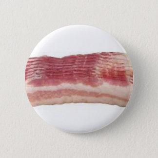 bacon 6 cm round badge
