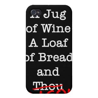 Bacon A Jug of Wine iPhone 4/4S Case