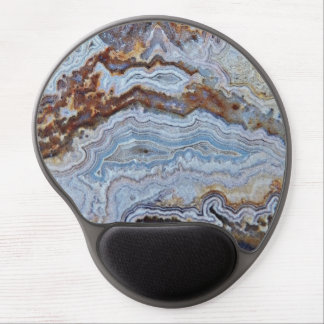 Bacon Agate Pattern Gel Mouse Mat