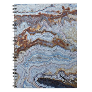 Bacon Agate Pattern Notebooks