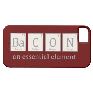 Bacon, an essential element iPhone 5 case