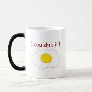 Bacon and egg mug. morphing mug