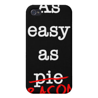 Bacon As Easy As Cases For iPhone 4