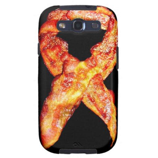 Bacon Awareness Ribbon Samsung Galaxy S3 Covers
