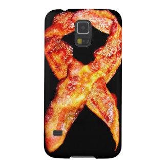 Bacon Awareness Ribbon Galaxy S5 Cases