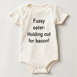 Bacon baby shirt! rompers