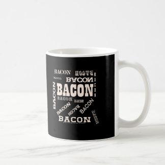 Bacon Bacon Bacon Coffee Mugs