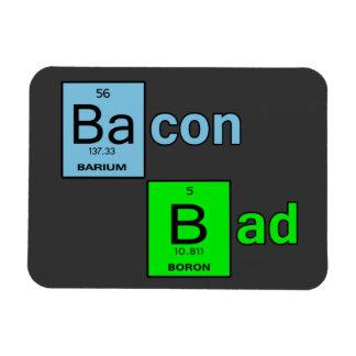 Bacon Bad Magnet
