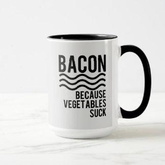 Bacon!! Because Vegetables Suck Mug