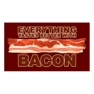 Bacon Bizz Pack Of Standard Business Cards