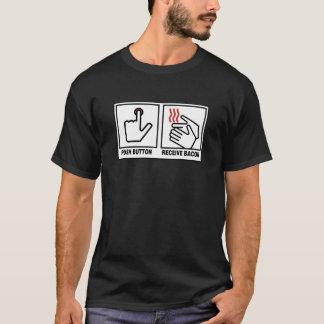 Bacon Button Tee! T-Shirt