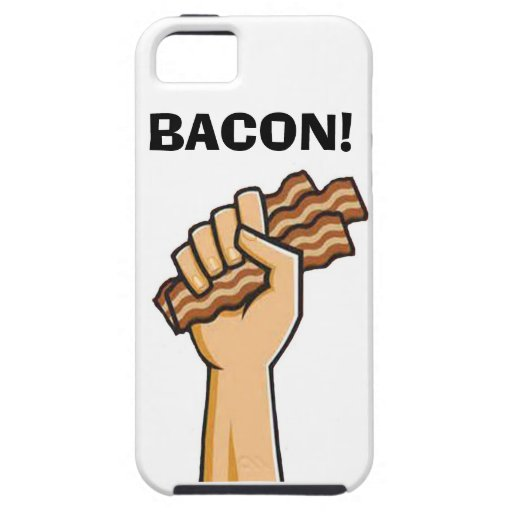 """BACON!"" cell phone case iPhone 5 Case"