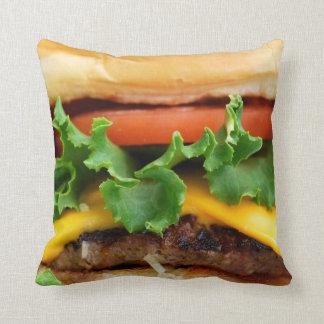 Bacon Cheeseburger Cushion