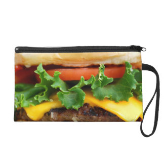 Bacon Cheeseburger Wristlet