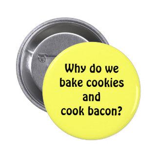 Bacon Cookies 6 Cm Round Badge