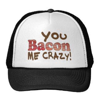 Bacon Crazy Trucker Hat