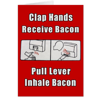 Bacon Dispenser II Card