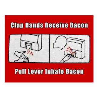 Bacon Dispenser Postcard