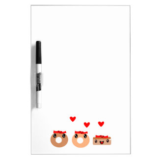 Bacon Donut Dry Erase Board