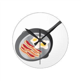 Bacon & Eggs Wallclock