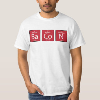 Bacon Elements T Shirt