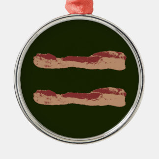 Bacon Equality Christmas Ornament