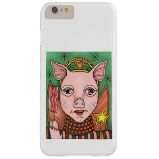 Bacon Fairy Princess Color Design Barely There iPhone 6 Plus Case