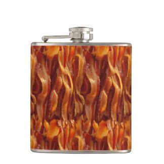 Bacon Field Yummy Pattern Flask