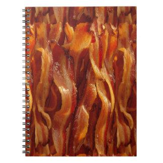 Bacon Fields Forever Decor Spiral Notebooks
