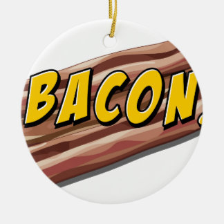Bacon flavour christmas ornament