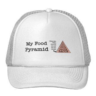 Bacon Food Pyramid Hats