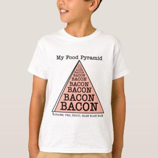 Bacon Food Pyramid T-Shirt