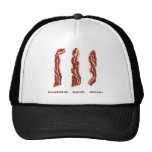 Bacon for Breakfast, Lunch and Dinner Hat