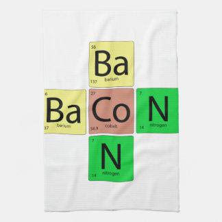 Bacon Geek Tea Towel
